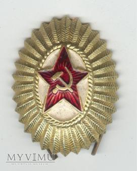 Duże zdjęcie Emblemat na czapkę ZSRR 14
