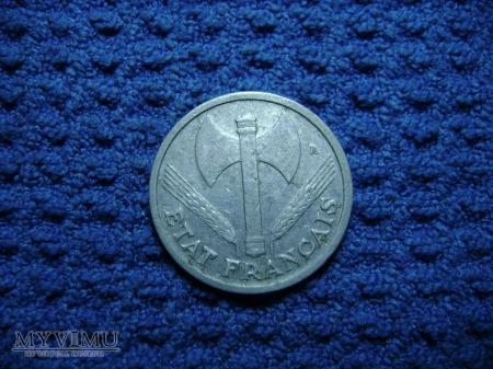 FRANCJA 1 franc 1943
