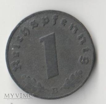 1 REICHSPFENNIG 1943 rok B