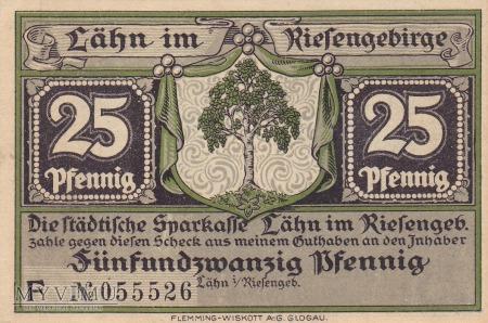 Notgeld Lahn 25 Pfg.