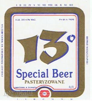 13° special beer