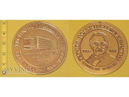 Medal kolejowy - usługowy Tech. Kol. w Warszawie