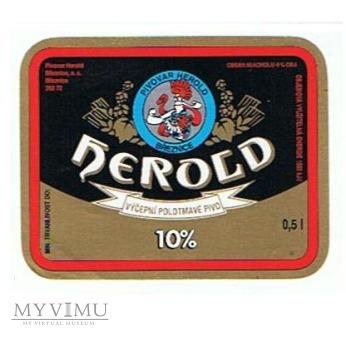 herold výčepní polotmavé pivo