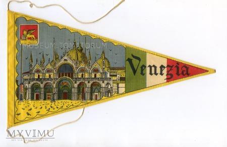 Duże zdjęcie Proporczyk souvenir - Włochy Wenecja 1963