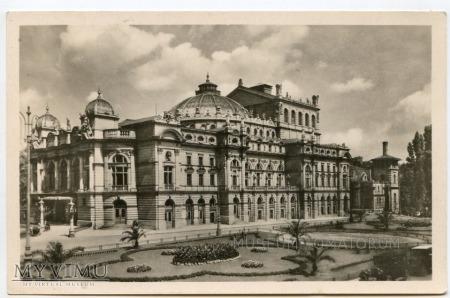Kraków - Teatr Miejski - Słowackiego - lata 30-te