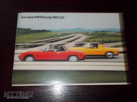 Prospekt VW-PORSCHE 914