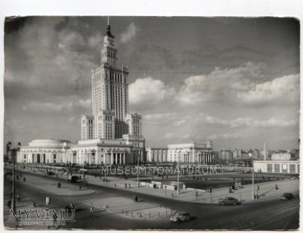 W-wa - Pałac Kultury i Nauki - 1962