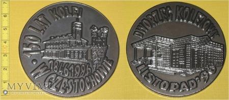 Medal kolejowy dworca w Częstochowie