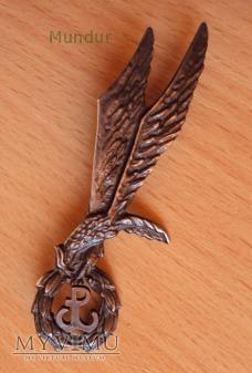 Odznaka skoczka spadochronowego Polska Walcząca