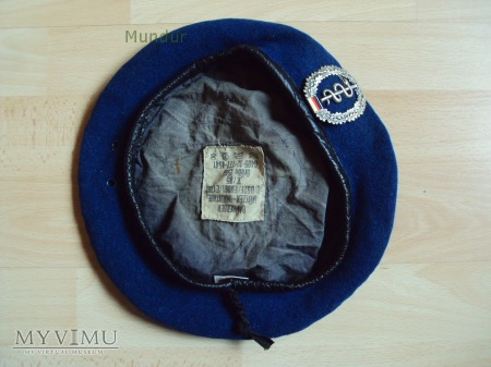 Bundeswehr: niebieski beret służby medycznej