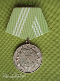 Medal für treue Dienste in der Volkspolizei