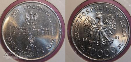 1991, 10000 zł