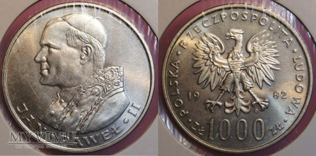 1982, 1000 zł