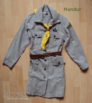 Mundurek (sukienka) zucha - dziewczynki