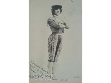1906 Caroline OTERO ostatnia wielka kurtyzana