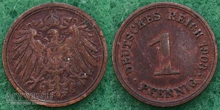 Niemcy, 1903, 1 PFENNIG