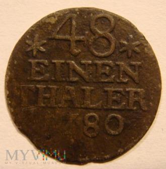 48 EINEN THALER 1780