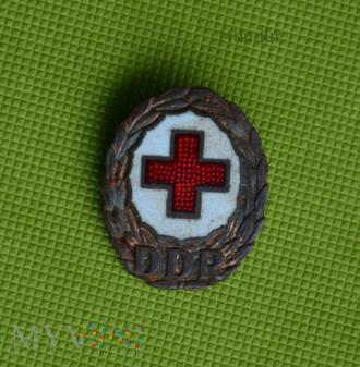 Odznaka Czerwonego Krzyża NRD