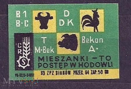 Mieszanki - To postęp w hodowli.1963