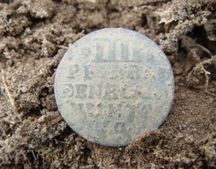 IIII PF: BRA DENB LAND MUNTZ 1706