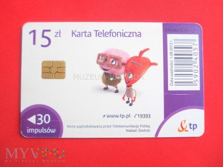 Karta chipowa 211 a