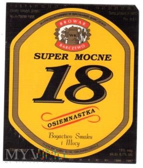 18 SUPER MOCNE