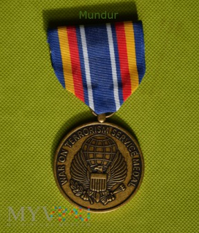US Army: War on Terrorism Service Medal