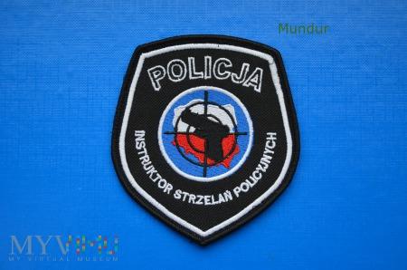 Oznaka INSTRUKTOR STRZELAŃ POLICYJNYCH