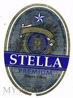stella premium lager beer