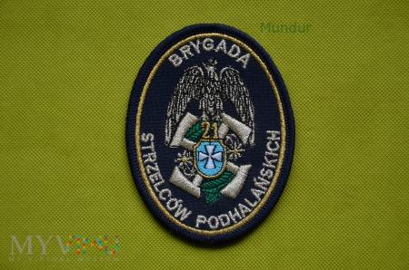 Duże zdjęcie Emblemat 21 Brygady Strzelców Podhalańskich