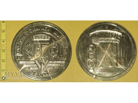 Medal kolejowy - firmowy KZA Zielonka