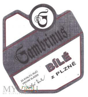 Gambrinus bílé