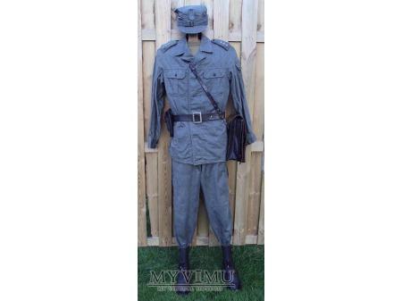 Mundur ćwiczebny letni porucznika lotnictwa