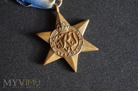 Medal Brytyjski - Gwiazda Atlantyku
