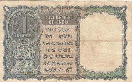 INDIE 1 RUPIA 1951