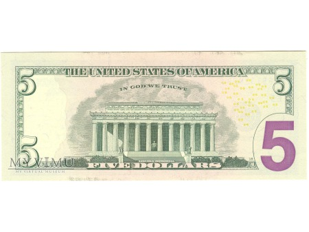 5 USD 2006 FEDERAL RESERVE NOTE