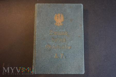 Legitymacja Związku byłych Ochotników Armii Pol.
