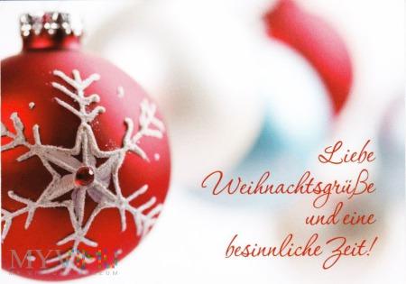Duże zdjęcie Weihnachtswünsche