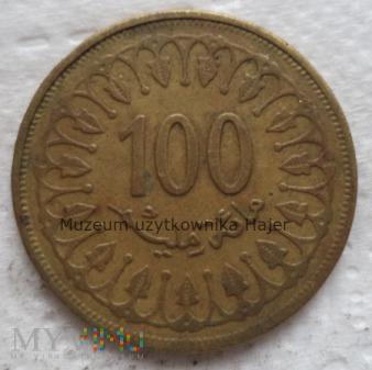 Tunezja - 100 milimów - 1997 rok