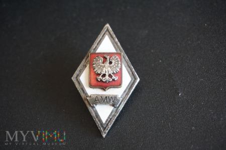 Odznaka Akademii Marynarki Wojennej - AMW