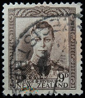 Nowa Zelandia 9D Jerzy VI