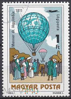 Dr. Menner's air balloon, 1811