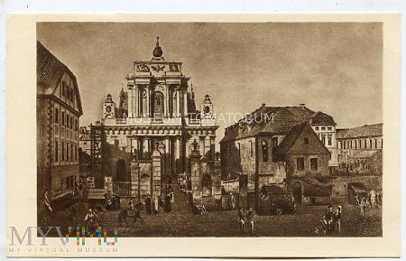 W-wa - Kościół Karmelitów - Canaletto