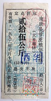 JIANGXI NANKANG 25/1992