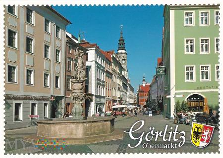 Görlitz - Georgsbrunnen am Obermarkt