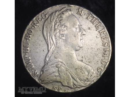 Talar Maria Teresa - nowe bicie (z data 1780)