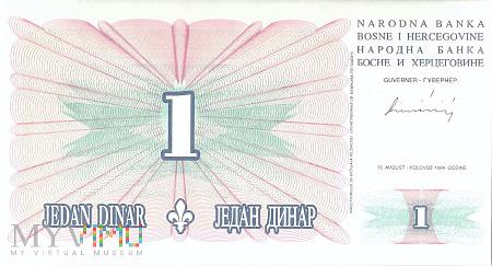 Bośnia i Hercegowina - 1 dinar (1994)