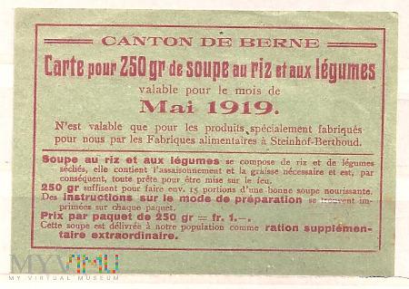 8.2a-Kanton Brno 1919 kartka żywnościowa