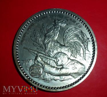 Duże zdjęcie Medal francuskiego Ruchu Oporu