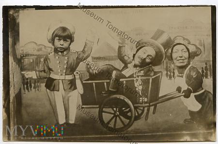 Zdjęcie z jarmarku - pocz. XX w.